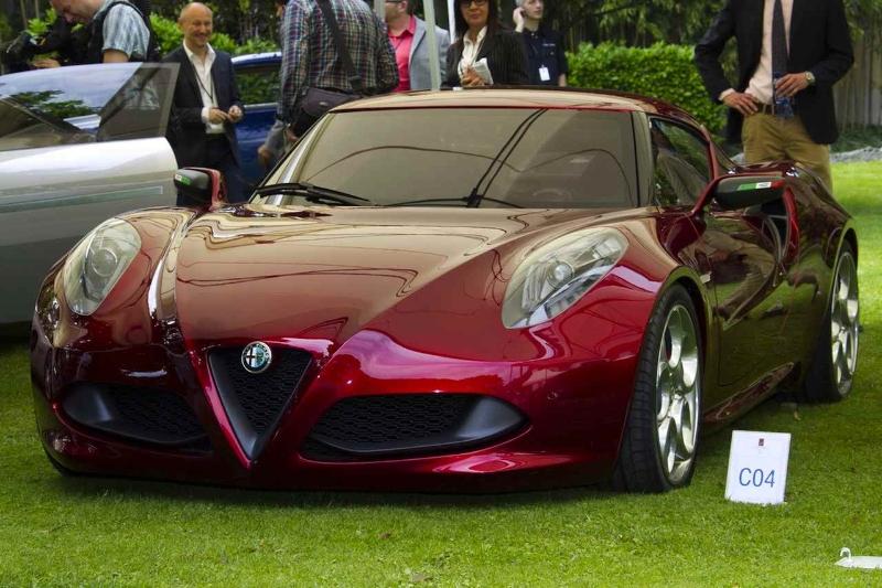 alfa-romeo-4c-cherry-red-metallic-concorso-delegance-villa-deste-2012-shade-front