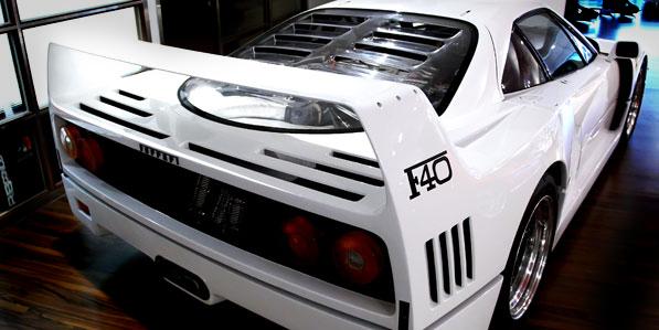 ferrari-f40-white-engine-cover
