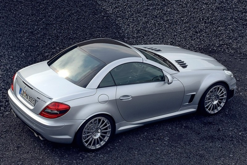 mercedes-benz-slk-55-amg-f1-metal-roof-rear-profile
