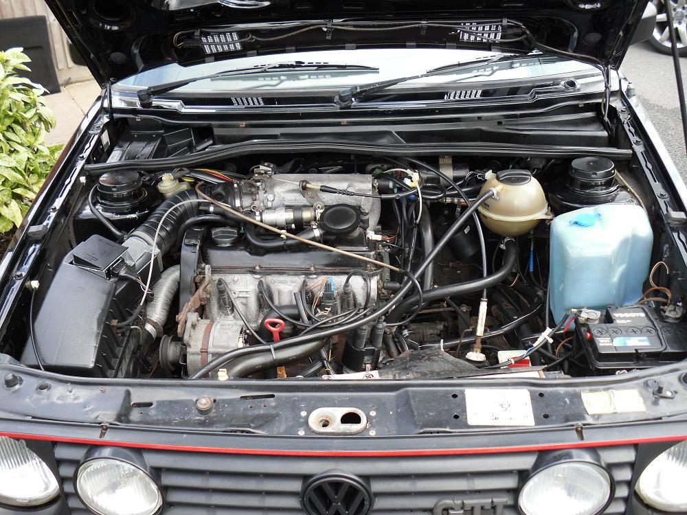 Mk2 Golf Gti Engine Bay Revival Sports Cars