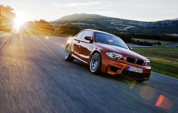2011 BMW 1M Orange