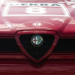 Alfa Romeo 155 2.5 V6 TI DTM 1993 Touring Car front badge