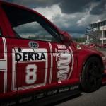 Alfa Romeo 155 2.5 V6 TI DTM 1993 Touring Car side dark