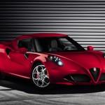 Alfa Romeo 4C 2013 Production High Resolution Model Carbon Fibre Front