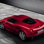 Alfa Romeo 4C 2013 Production Model High Resolution  Carbon Rear with smaller lights