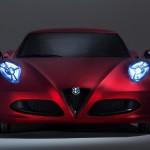 Alfa Romeo 4C 300bhp front detail