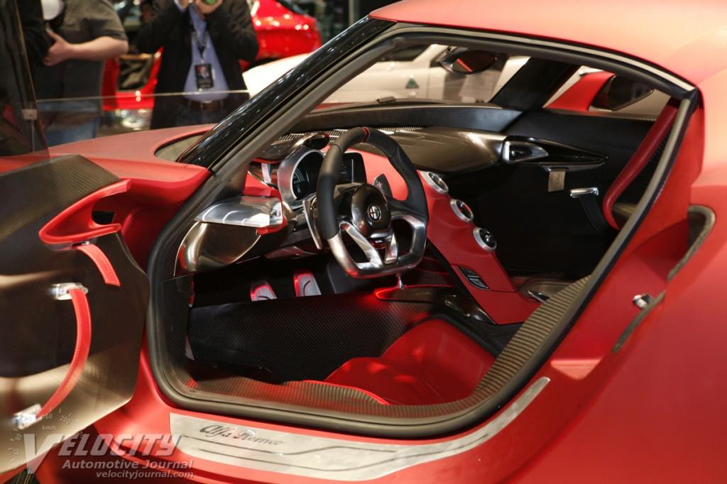 Alfa Romeo 4c Concept Interior Alfa Romeo 4c 300bhp Interior
