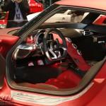 Alfa Romeo 4C 300bhp interior wheel cockpit