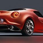 Alfa Romeo 4C 300bhp low detail