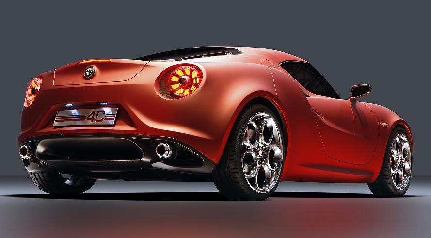 Alfa Romeo 4C 300bhp low detail