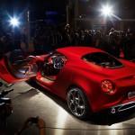 Alfa Romeo 4C 300bhp rear