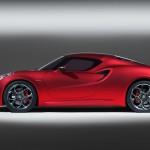 Alfa Romeo 4C 300bhp side
