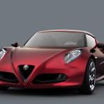 Alfa Romeo 4C Carbon Concept Front Splitters