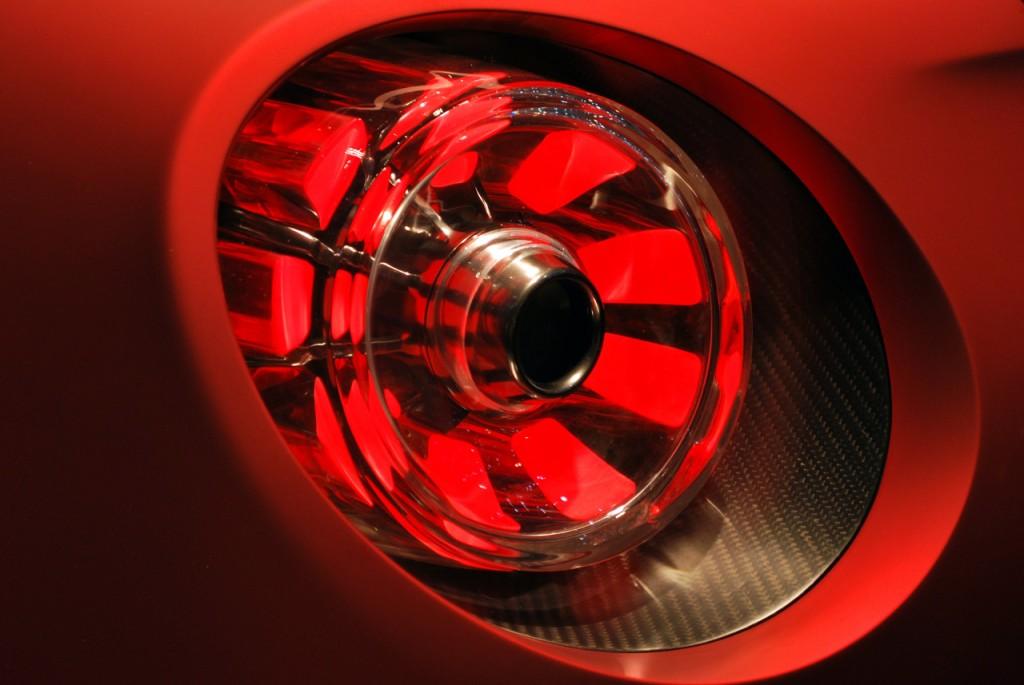 Alfa Romeo 4C Carbon Rear Light detail