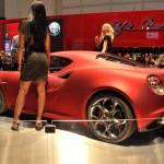 Alfa Romeo 4C Carbon Red Rear