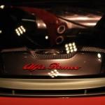 Alfa Romeo 4C Cherry Red Metallic  Concorso d'Elegance Villa d'Este 2012 engine bay