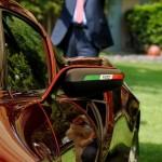 Alfa Romeo 4C Cherry Red Metallic Concorso d'Elegance Villa d'Este 2012 mirror