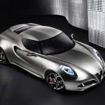 Alfa Romeo 4C Front Liquid Silver