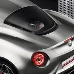 Alfa Romeo 4C Rear Detail Liquid Silver