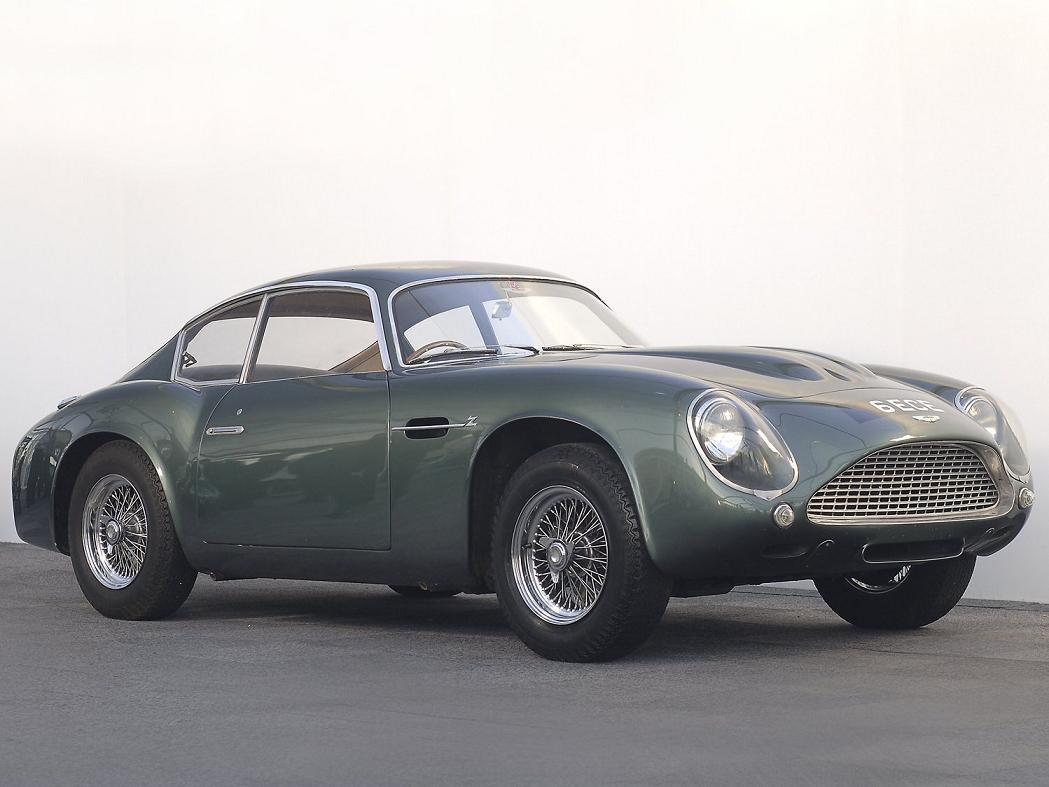 Aston Martin DB4 GT Zagato front