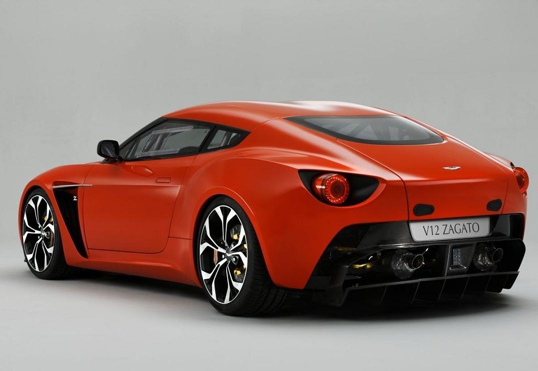 Aston Martin Zagato V12 Rear