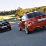 BMW 1 Series M Coupe (2011) & M3 (E30) Rear Side