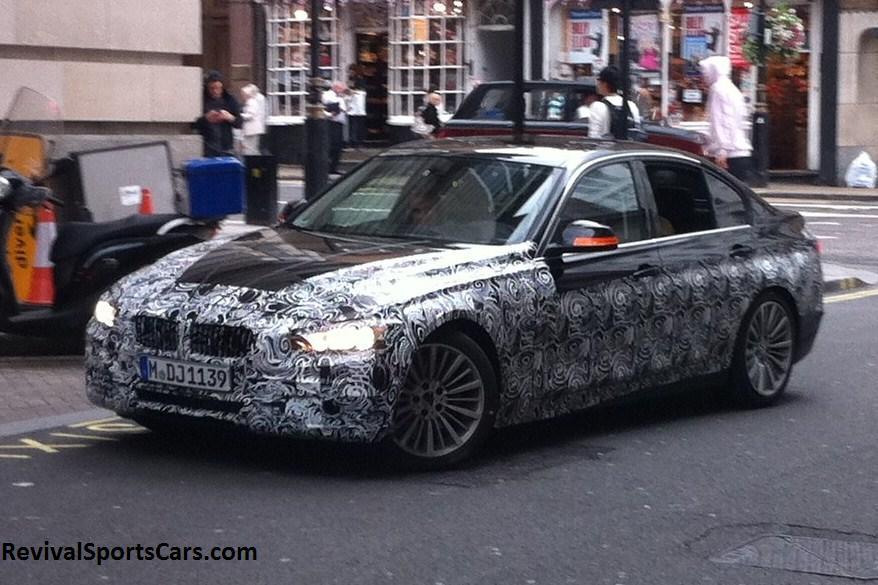 BMW F10 550i London front