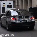 BMW F10 550i London rear