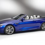 BMW M6 F12 Convertible 2012 side angle blue calipers