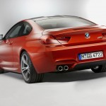 BMW M6 F12 Coupe 2012 Rear angle quad exhausts