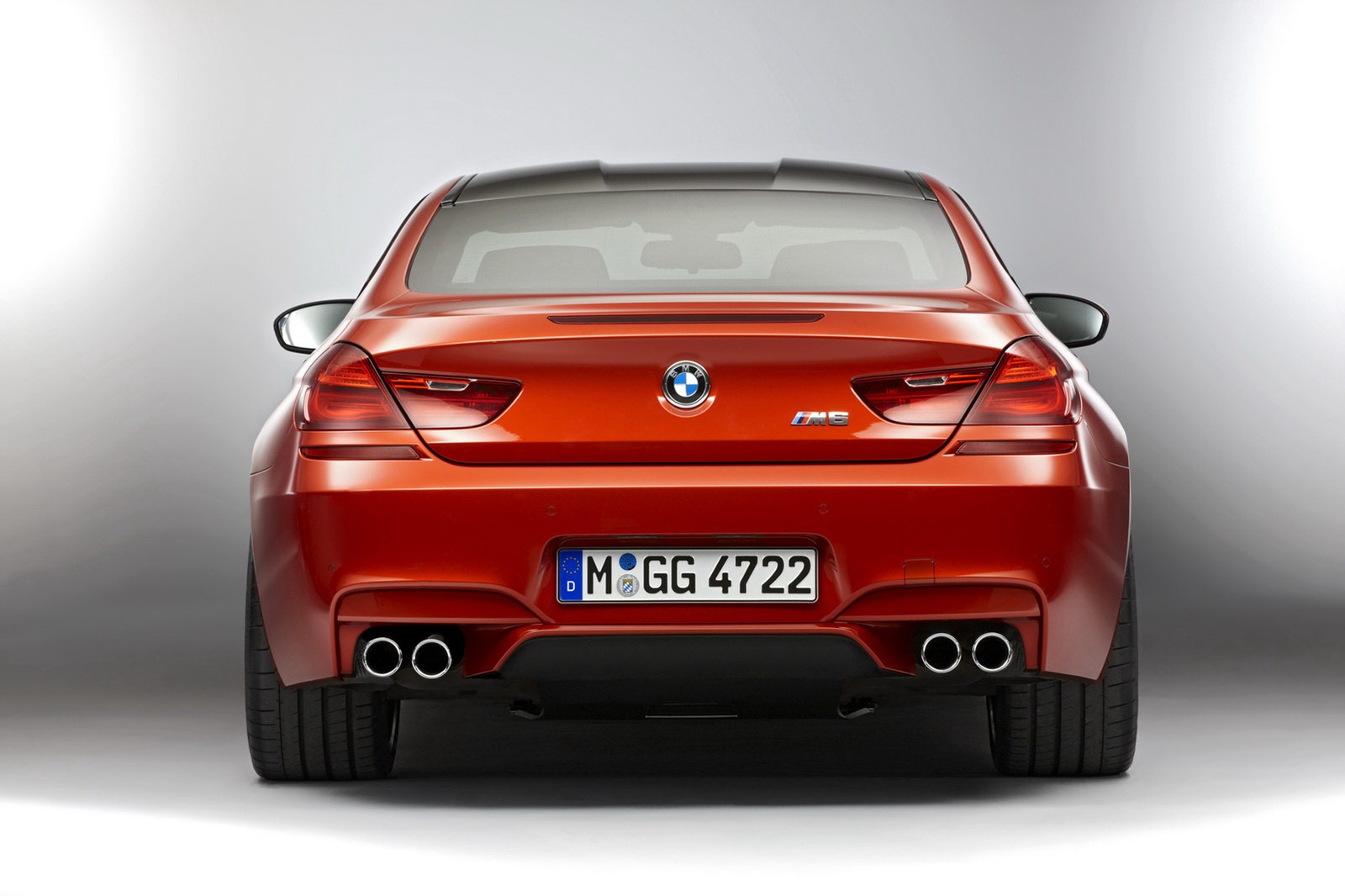 BMW M6 F12 Coupe 2012 rear wide track
