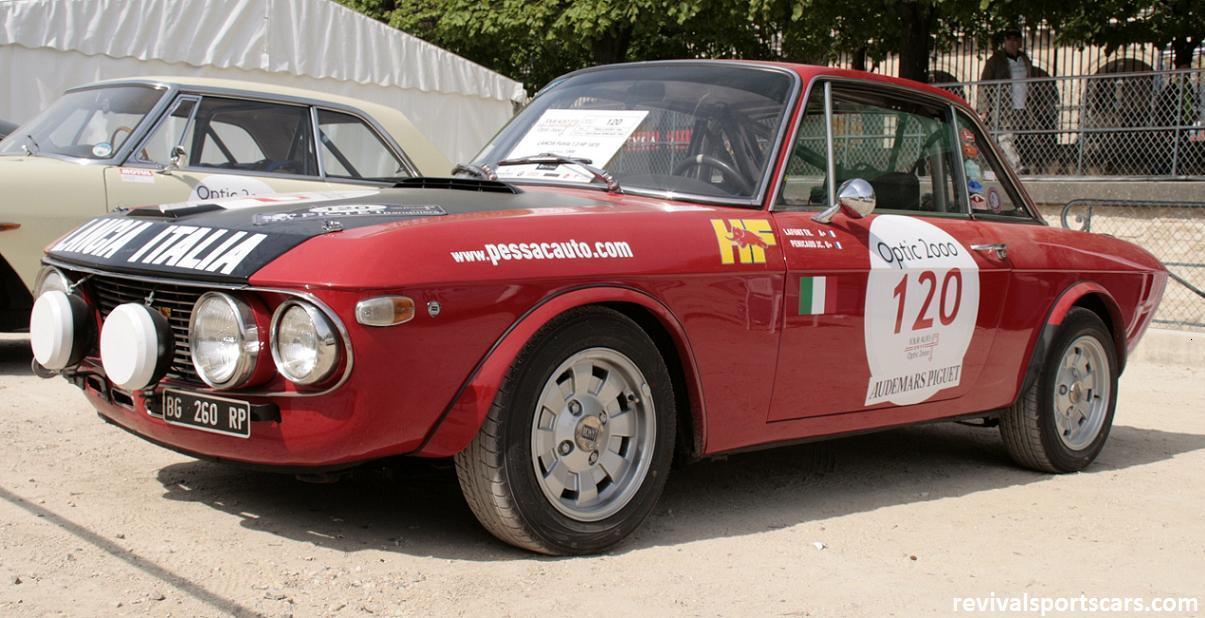 Car 120 Lancia Fulvia 1.3 HF 1970