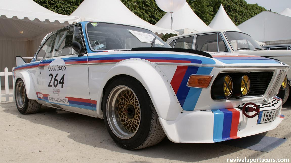 Car 264 BMW 3.0 CSL 1972