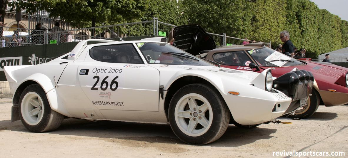 Car 266 Lancia Stratos Group IV 1974