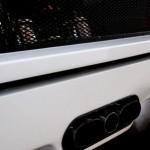 Ferrari F40 White detail rear triple exhaust
