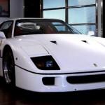 Ferrari F40 White front