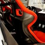 Ferrari F40 White interior carbon seats
