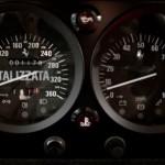 Ferrari F40 White interior dials