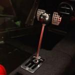 Ferrari F40 White interior gear stick