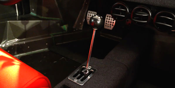 Ferrari F40 White interior gear stick