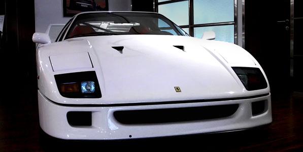 Ferrari F40 White nose