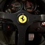Ferrari F40 White steering wheel