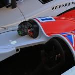 Greaves Motorsport Zytec-Nissan LMP2 prototype Le Mans 2012 cockpit