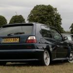 Knebworth VW Show 2011 - VW Golf Rallye G60 reversing