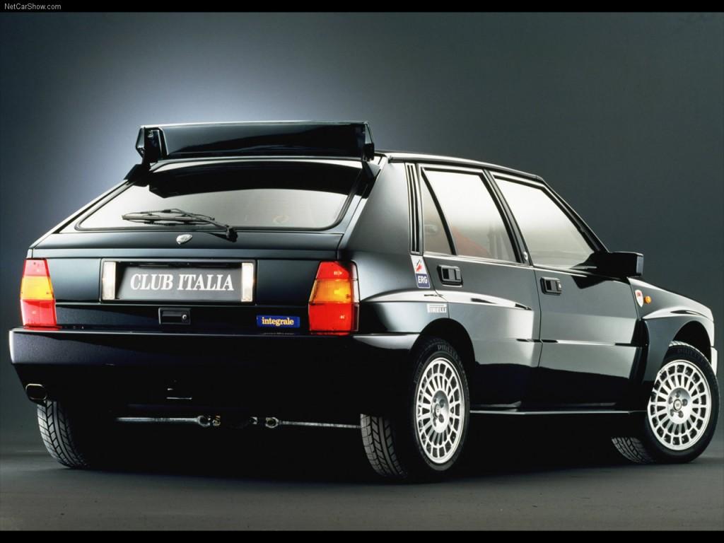 Lancia Delta Integrale rear