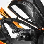 McLaren P1 2013 Interior Carbon door mechanism passenger cell seat profile High Resolution
