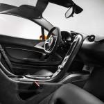 McLaren P1 2013 Interior Carbon low detail seat wheel High Resolution