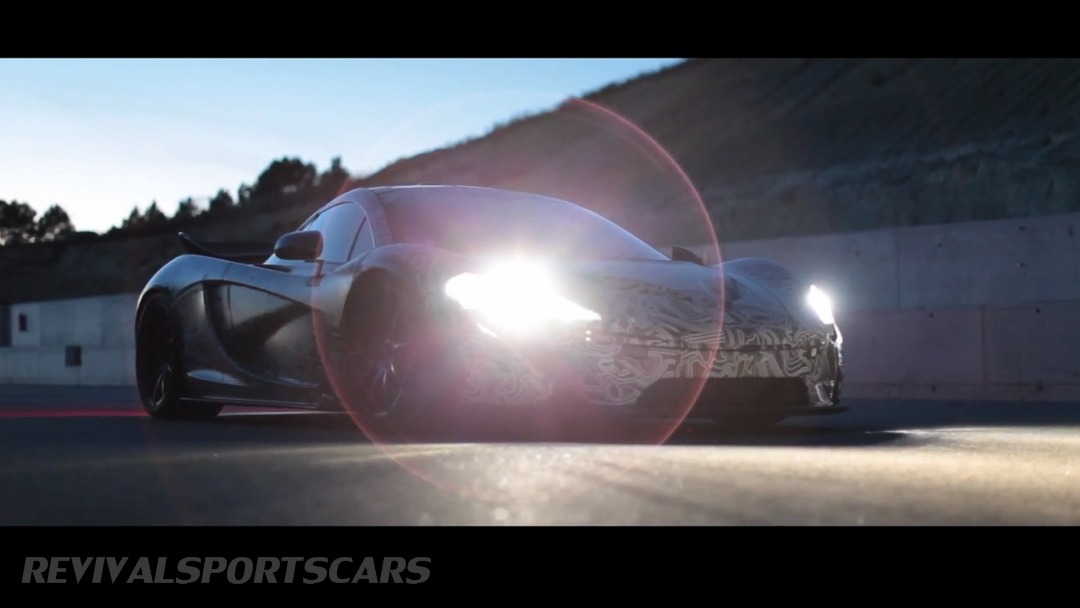 McLaren P1 Nurburgring Testing High Resolution Front Low Angle with light angel halo