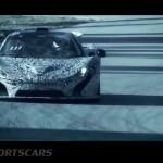 McLaren P1 Nurburgring Testing High Resolution Front on track mid testing