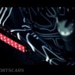 McLaren P1 Nurburgring Testing High Resolution Rear Light detail top